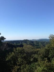 大福山展望台からの景色