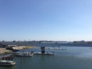 大師橋からの多摩川眺め