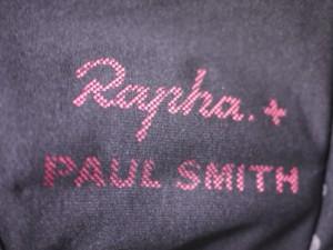 raphaラファとポールスミスのコラボジャージ