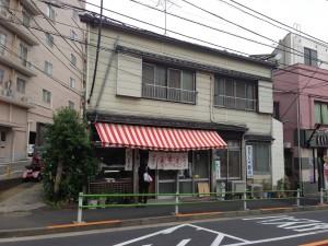 東京港区高輪「松島屋」外観